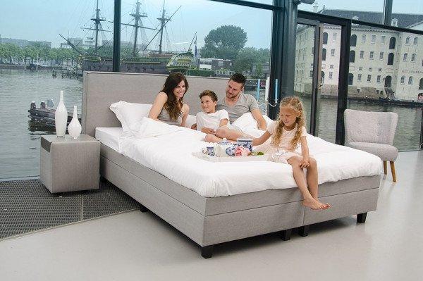 Bedombouw Voor Waterbed.Premium Boxspring Voor Uw Waterbed Zelf Samenstellen